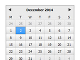 DatePicker Flex Component